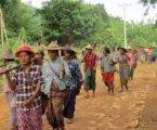 petani myanmar protes rampas lahan ke militer