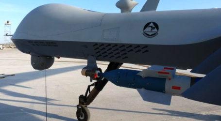 DRONE AS JATUH DI WILAYAH AFGHANISTAN