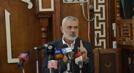 HANIYAH PUJI PERAN MESIR ATAS KONFERENSI DONOR GAZA