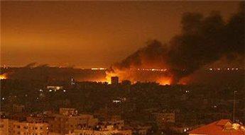 ISRAEL TEMBAKKAN RUDAL KE GAZA SENIN DINI HARI