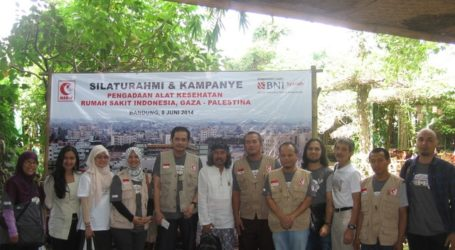 SAUNG UDJO DUKUNG KAMPANYE PENGADAAN ALKES RS INDONESIA