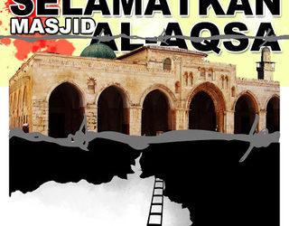 PALESTINA SERUKAN DUNIA ISLAM LINDUNGI AL-AQSHA