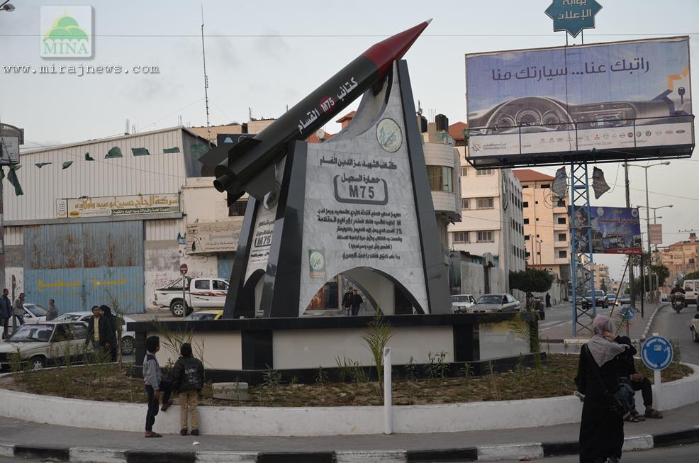 3.000 ROKET PEJUANG GAZA HUJANI WILAYAH ISRAEL