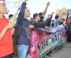 Mahasiswa Lampung Peduli Gaza (Photo : MINA)