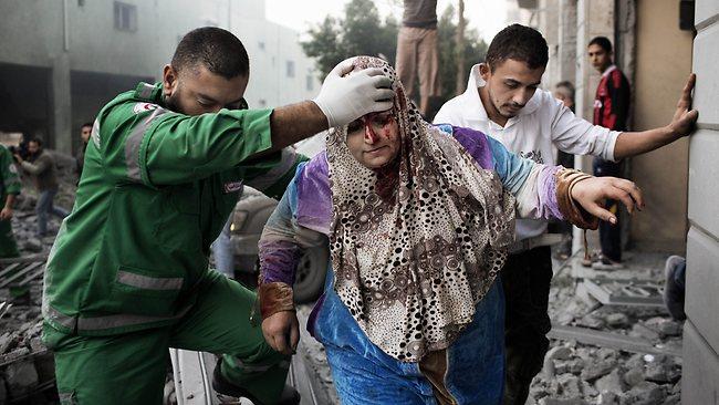 ABBAS NYATAKAN GAZA 'ZONA BENCANA KEMANUSIAAN'