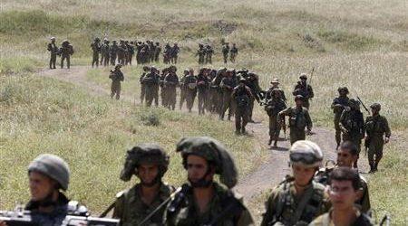 ZIONIS ISRAEL KIRIM PASUKAN KE PERBATASAN GAZA