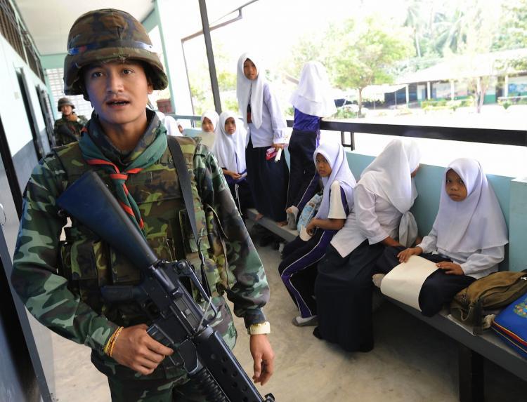 BOM TEWASKAN GADIS CILIK THAILAND SELATAN DI MALAM IDUL FITRI