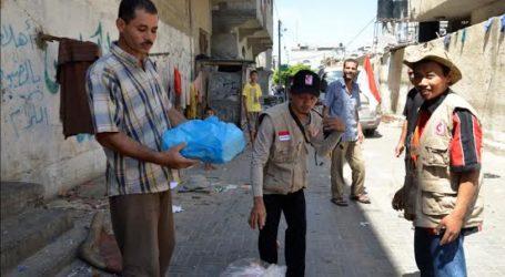 RELAWAN MER-C LANJUTKAN DISTRIBUSI BANTUAN DI GAZA