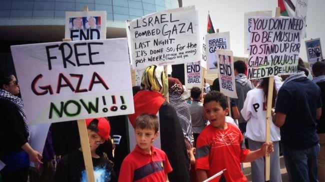 KANADA PROTES SERANGAN ISRAEL DI GAZA