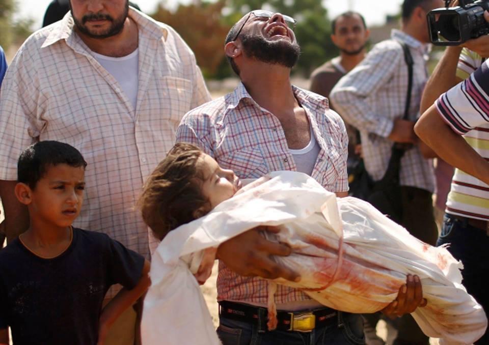 SERANGAN TERBARU ISRAEL BANTAI SATU KELUARGA DI GAZA