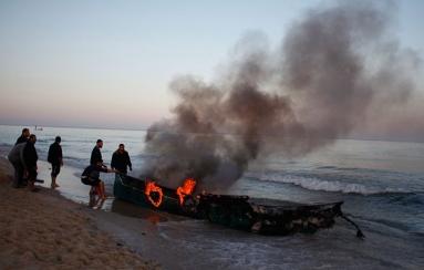 ISRAEL KURANGI DAERAH PENANGKAPAN IKAN DI GAZA