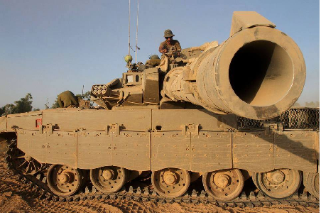 ZIONIS LUNCURKAN 46 RIBU RUDAL DALAM AGRESI KE GAZA