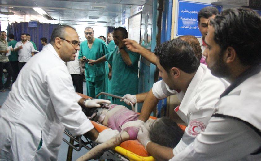ISRAEL HANCURKAN SEKOLAH DI GAZA, PULUHAN TEWAS