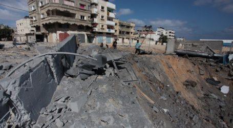 KERUGIAN PERTANIAN GAZA AKIBAT AGRESI ISRAEL RP 30 MILIAR