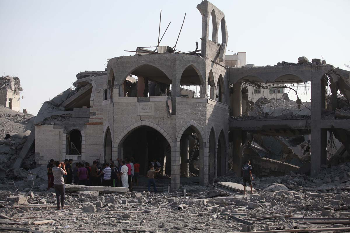 ISRAEL RUSAK 161 MASJID DI GAZA