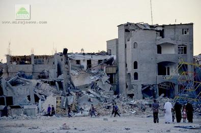 MESIR HARAPKAN REKONSTRUKSI GAZA SEGERA DIMULAI
