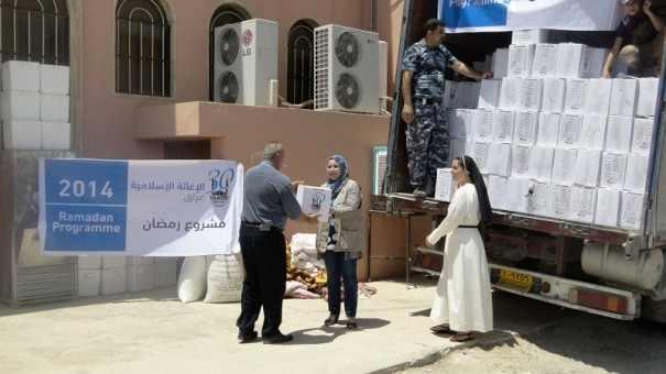 ISLAMIC RELIEF BANTU PENGUNGSI KRISTEN IRAK