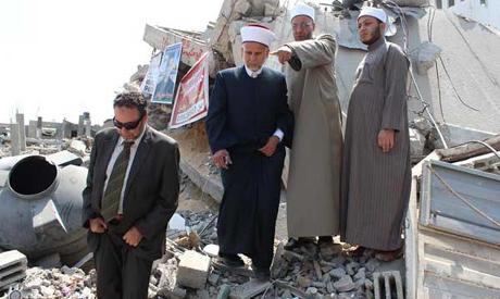 DELEGASI AL-AZHAR KUNJUNGI SHUJAIYAH GAZA