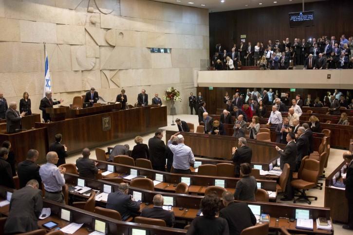 PARLEMEN ISRAEL SETUJUI TAMBAHAN DANA SENILAI RP.  13,65 TRILIUN UNTUK MILITER