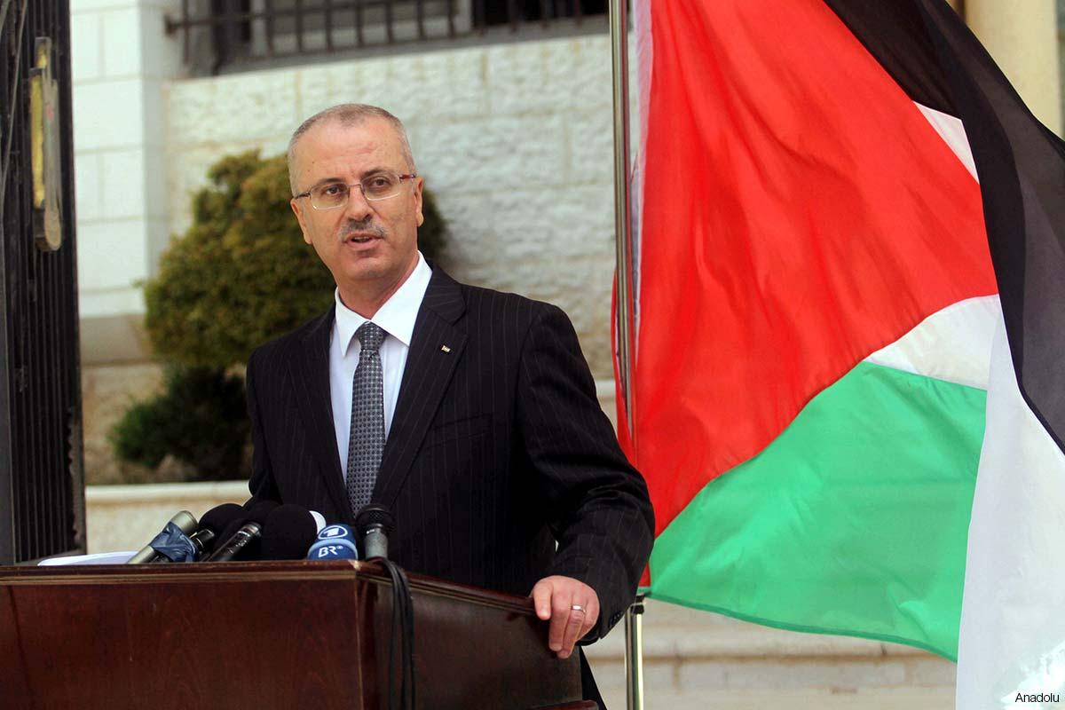 PM PEMERINTAHAN PERSATUAN PALESTINA KUNJUNGI GAZA RABU INI
