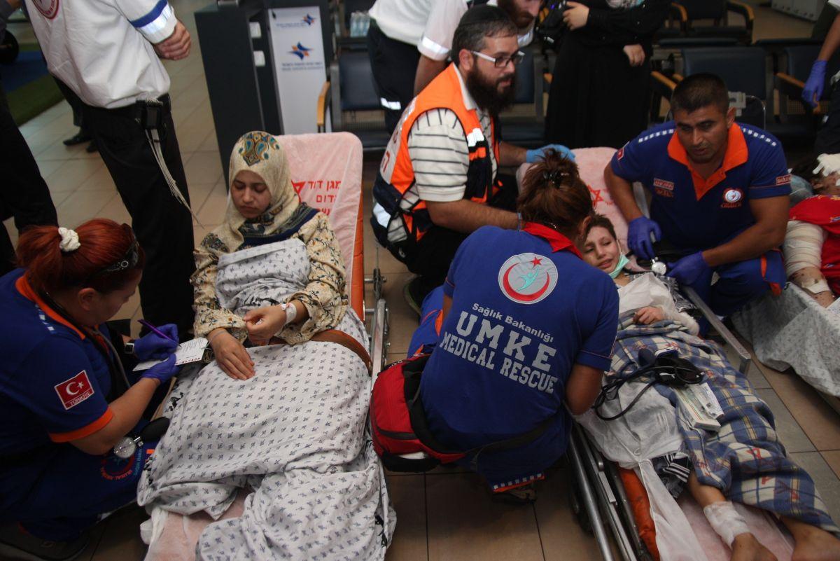 TIM MEDIS TURKI TIBA DI GAZA