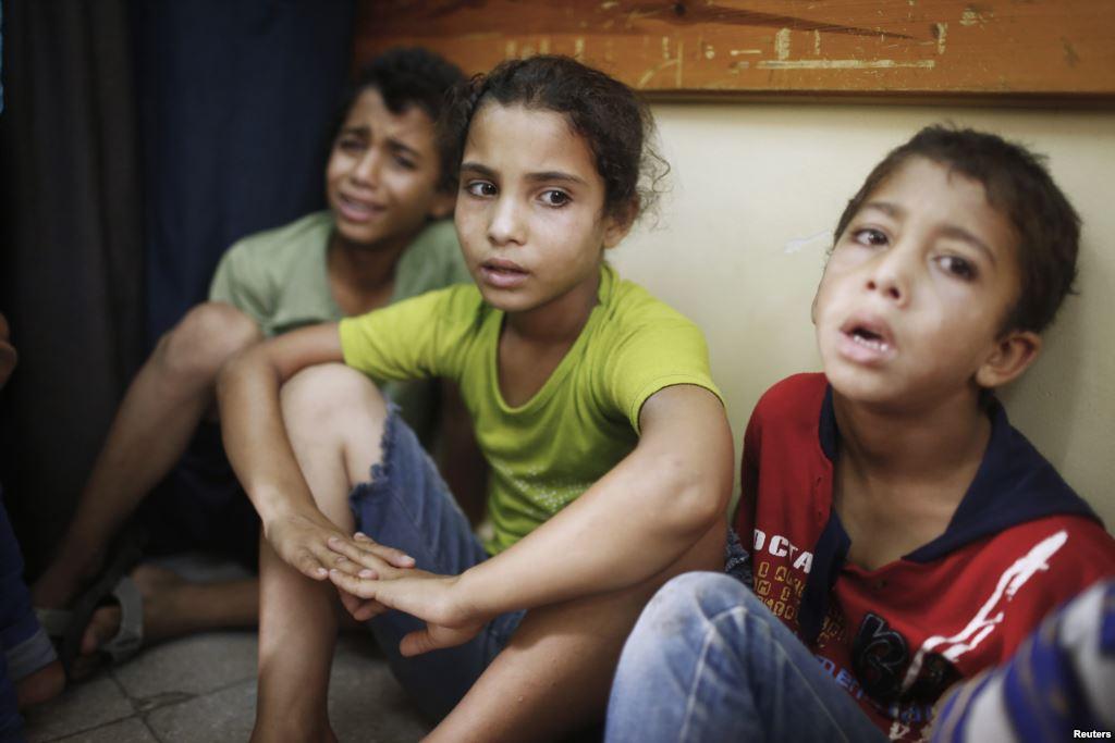 ISRAEL PUPUSKAN HARAPAN ANAK GAZA