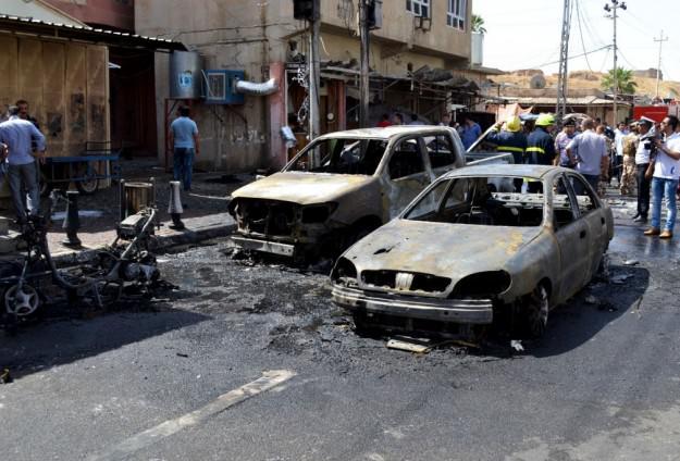 LEDAKAN BOM MOBIL KEMBALI TEWASKAN 24 ORANG DI IRAK