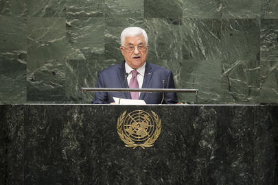 PIDATO ABBAS DI PBB: PALESTINA TIDAK MUNGKIN KEMBALI BERUNDING DENGAN ISRAEL