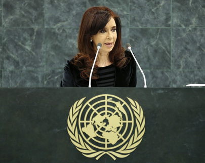 PRESIDEN ARGENTINA MINTA ANGGOTA PBB AKUI NEGARA PALESTINA