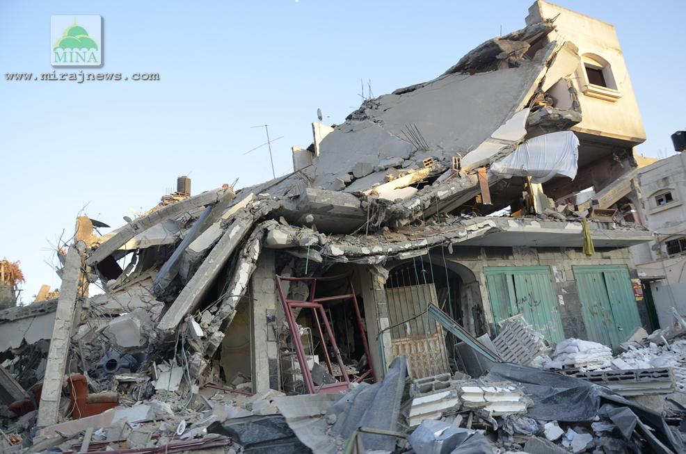ISRAEL HANCURKAN 9.800 RUMAH SELAMA AGRESI MILITER KE GAZA