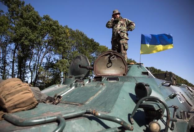 GENCATAN SENJATA HENTIKAN KONFLIK DI UKRAINA TIMUR