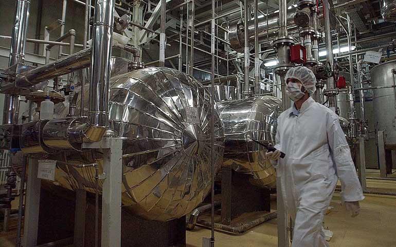Pabrik pengayaan uranium Iran