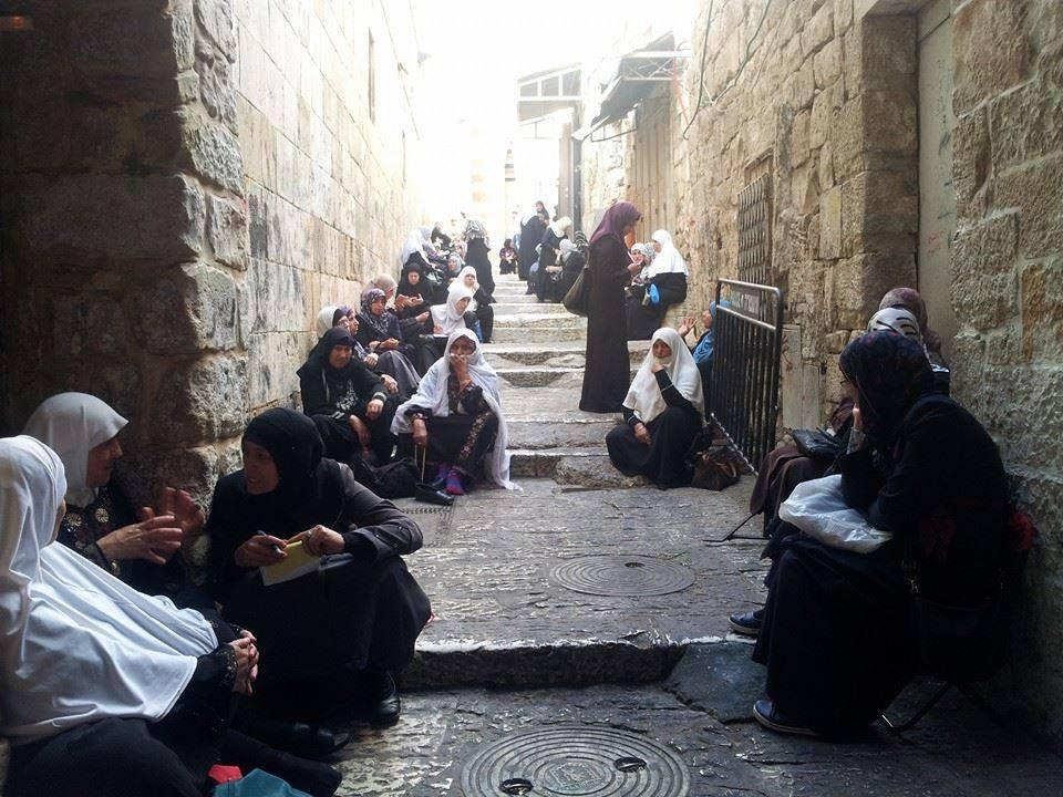 ISRAEL MASIH TOLAK MUSLIMAH PALESTINA MASUKI AL-AQSHA