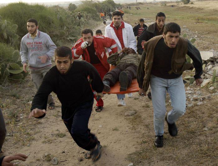 TENTARA ISRAEL TEMBAK PETANI GAZA