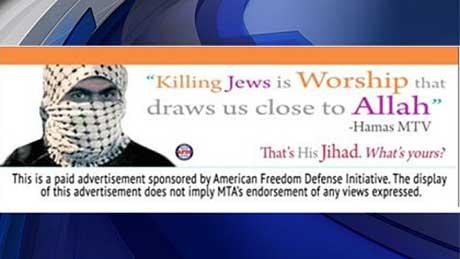POSTER ANTI-ISLAM MENUAI KONTROVERSI DI NEW YORK