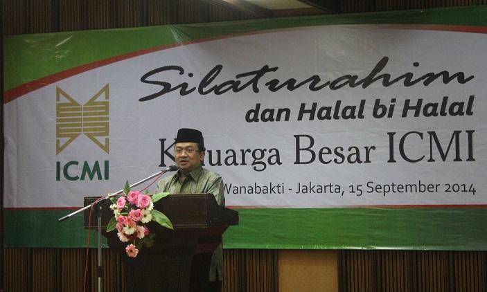 ICMI WADAH CENDIKIAWAN MUSLIM BANGUN MASYARAKAT IDEAL