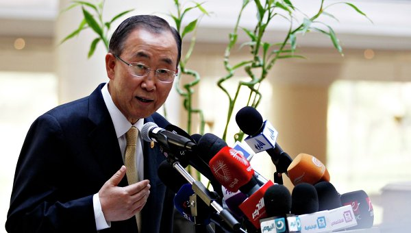 BAN KI-MOON: PBB TERUS DUKUNG KONSESUS NASIONAL PALESTINA