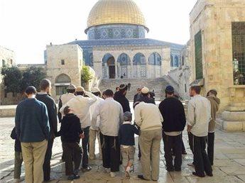 PEJABAT ISRAEL SERANG MASJID AL-AQSHA