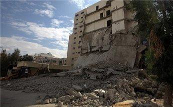 PALESTINA MULAI DISTRIBUSIKAN SEMEN UNTUK BANGUN KEMBALI RUMAH GAZA