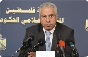 Menteri Pertanian Pemerintah Rekonsiliasi Palestina