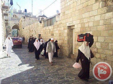 DOA MENJADI LUAPAN SUKA CITA WARGA GAZA DI MASJID AL-AQSA