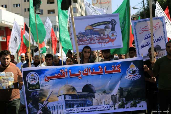HAMAS: SERANGAN ISRAEL KE AL-AQSHA AKAN SEBABKAN 'LEDAKAN BESAR'