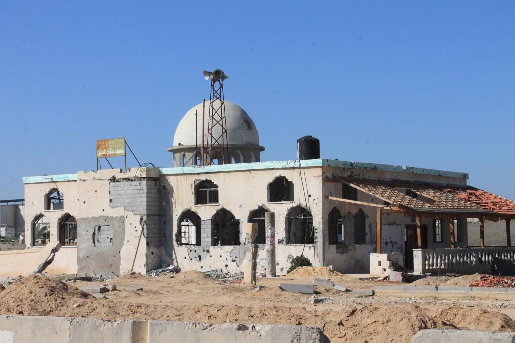 MASJID SHALAHUDDIN DI JALUR GAZA, KORBAN TIGA KALI PERANG PALESTINA – ISRAEL