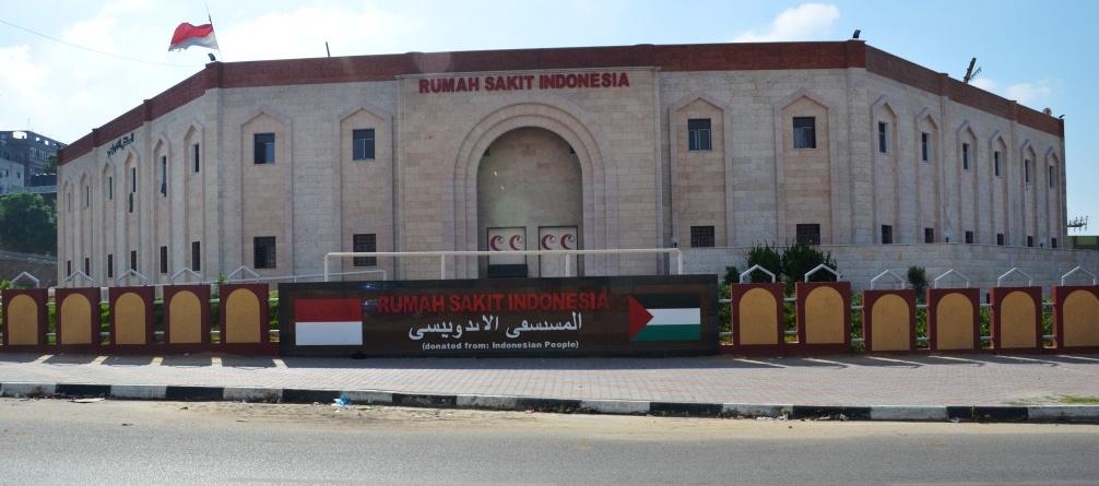 SELAIN RUMAH SAKIT, RELAWAN INDONESIA JUGA MEMBANGUN WISMA INDONESIA DI GAZA