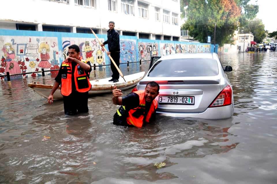 banjir Gaza