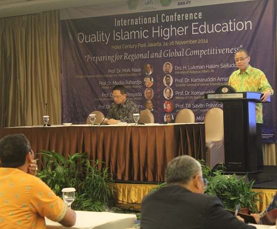 INDONESIA HARUS PUNYA PENDIDIKAN TINGGI ISLAM KELAS DUNIA