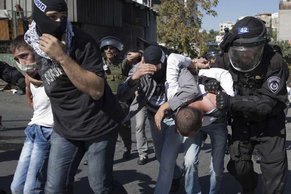 PASUKAN ISRAEL TAHAN 23 WARGA PALESTINA DI AL-QUDS TIMUR