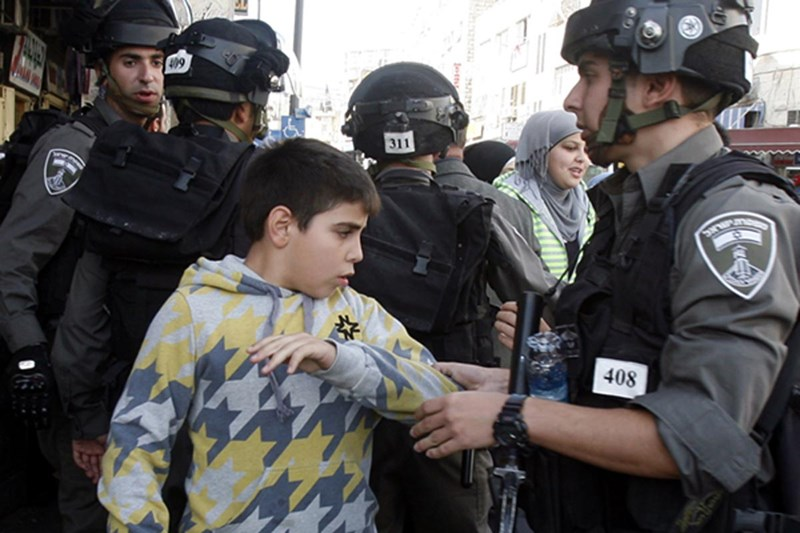 ISRAEL PENJARAKAN LEBIH DARI 10 RIBU BOCAH PALESTINA