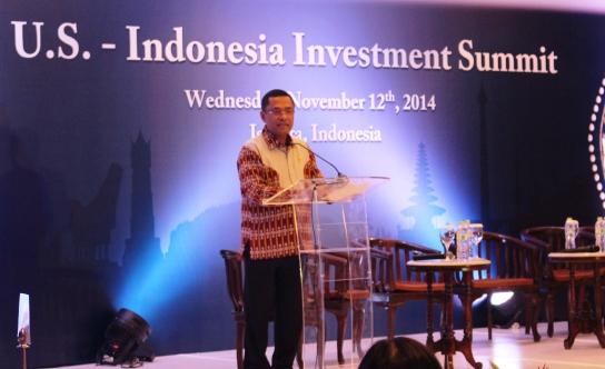 MENTERI PERINDUSTRIAN OPTIMIS INVESTASI MAJUKAN EKONOMI INDONESIA