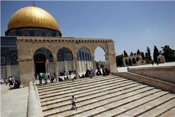KELOMPOK SAYAP KANAN ISRAEL KELILING KOMPLEKS MASJID AL-AQSHA